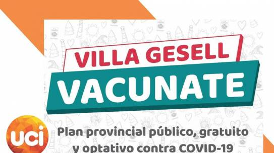 VACUNATE VILLA GESELL